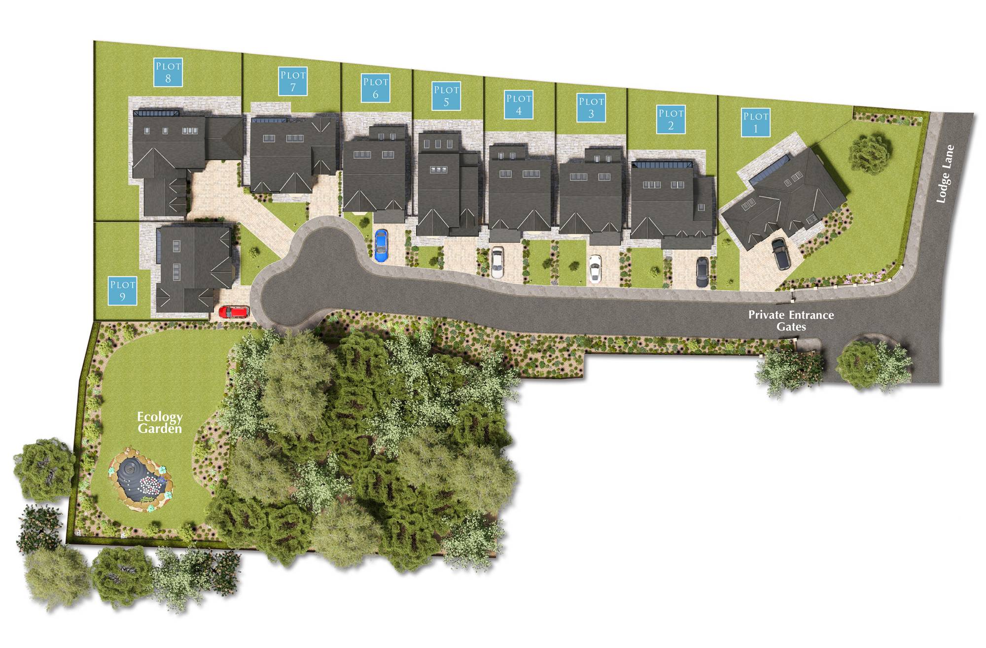 Sitemap for Wyre Grange